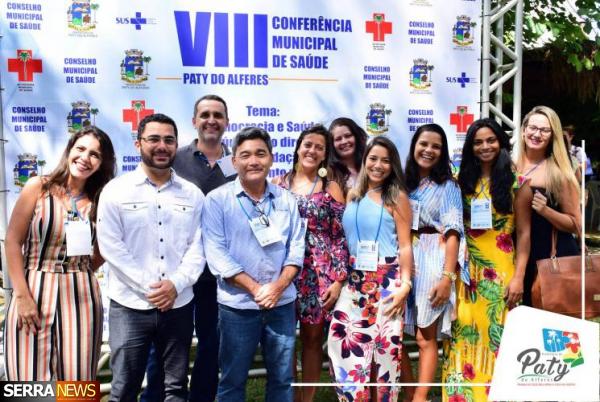 VIII CONFERÊNCIA DE SAÚDE EM PATY DO ALFERES
