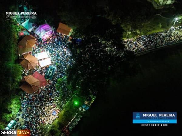 RECORDE ABSOLUTO NO RÉVEILLON DE MIGUEL PEREIRA