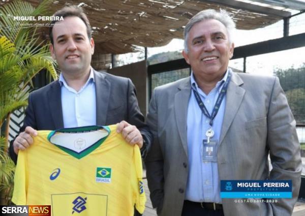 MIGUEL PEREIRA TERÁ PRIMEIRA ARENA FIXA DE VÔLEI DE AREIA DO BRASIL