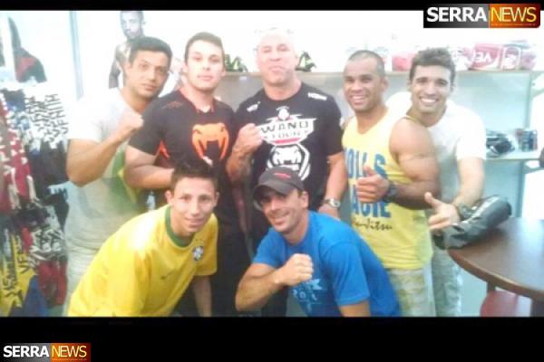 """Equipe A. Fernandes de Jiu-Jitsu participa da Feira de Lutas """"Fil"""" em Minas Gerais"""