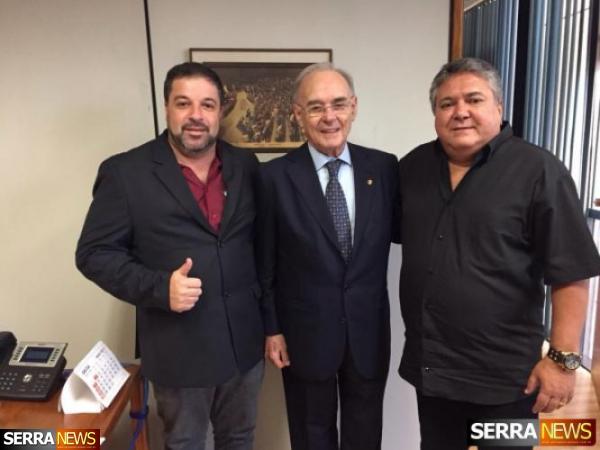 ROMANO LOMELINO E ALBINO PORTELLA BUSCAM RECURSOS EM BRASÍLIA