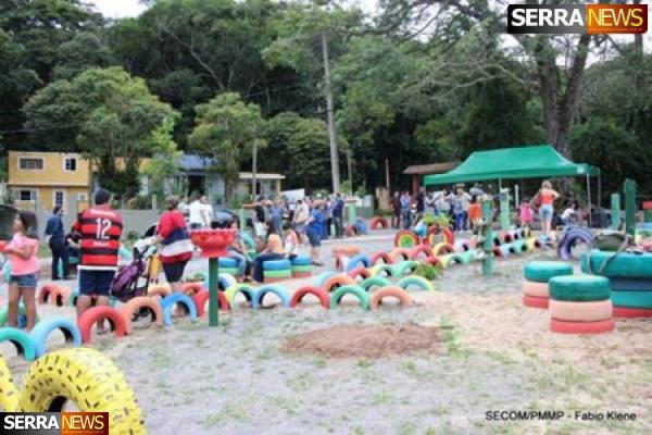 Inauguração Praça Ecológica