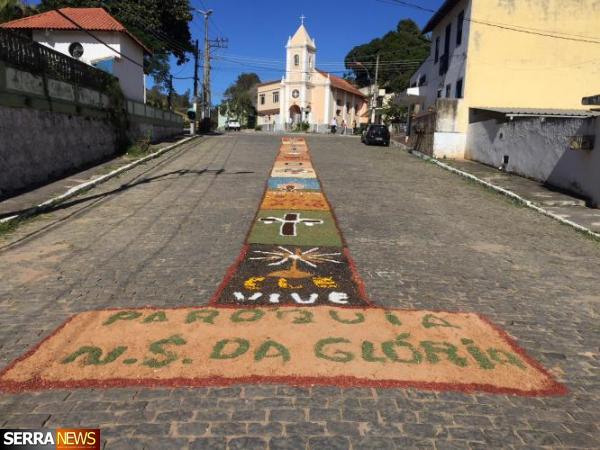 COMUNIDADE CATÓLICA DE GOVERNADOR PORTELA CELEBRA O DIA DE CORPUS CHRISTI