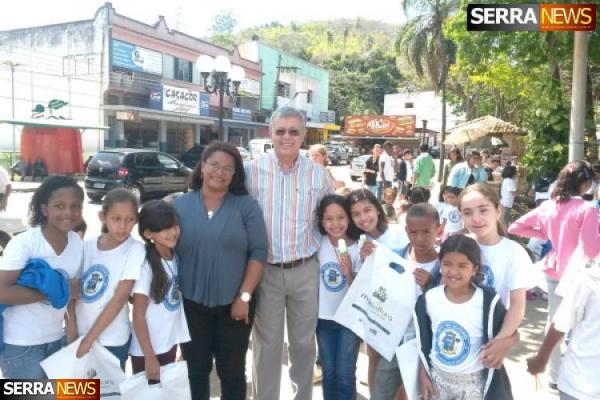 Paty do Alferes recebe projeto Mais Leitura