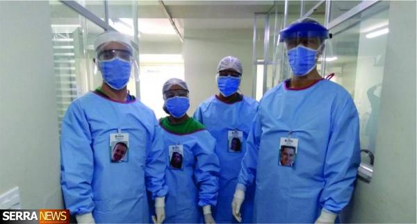 Covid-19: Hospital Escola de Valença adapta crachás para humanizar o atendimento de pacientes